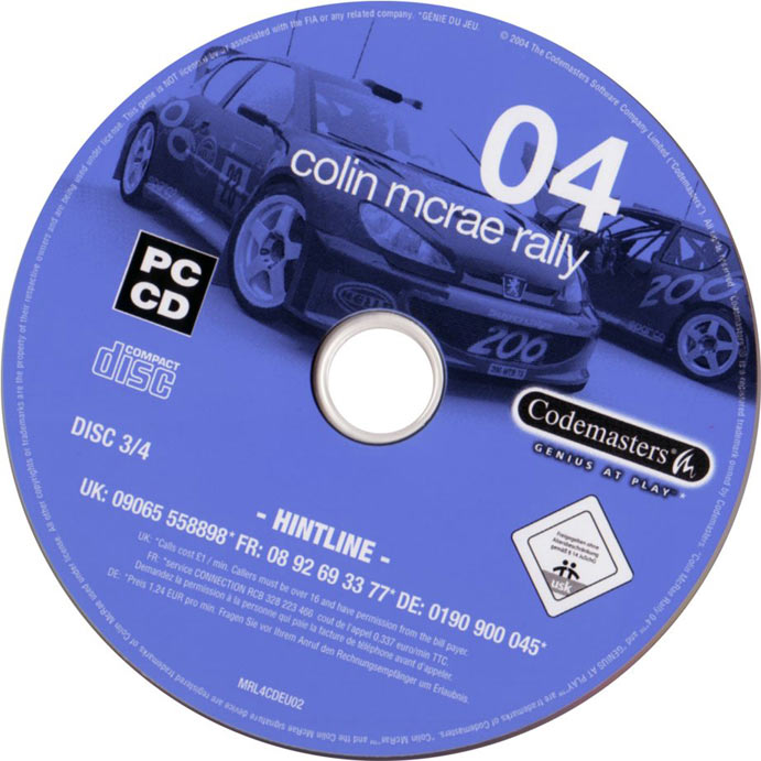 Colin McRae Rally 04 CD3.jpg